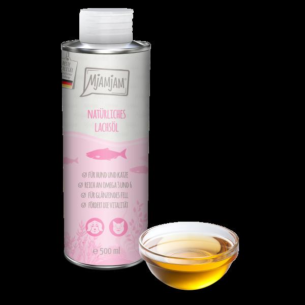 MjAMjAM - natürliches Lachsöl
