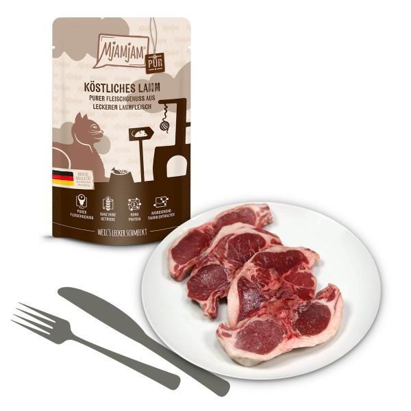 MjAMjAM - Quetschie Purer Fleischgenuss - köstliches Lamm pur