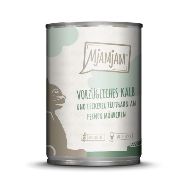 MjAMjAM - vorzügliches Kalb & Truthahn an leckeren Möhrchen