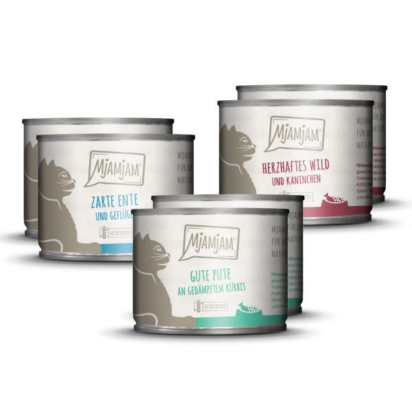 MjAMjAM - leckere Mahlzeiten Mixpaket II für deine Katze