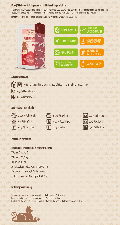 Mjamjam_Produktbeschreibung_Katze_PUR_Pouches_Delikates-Kaengurufleisch