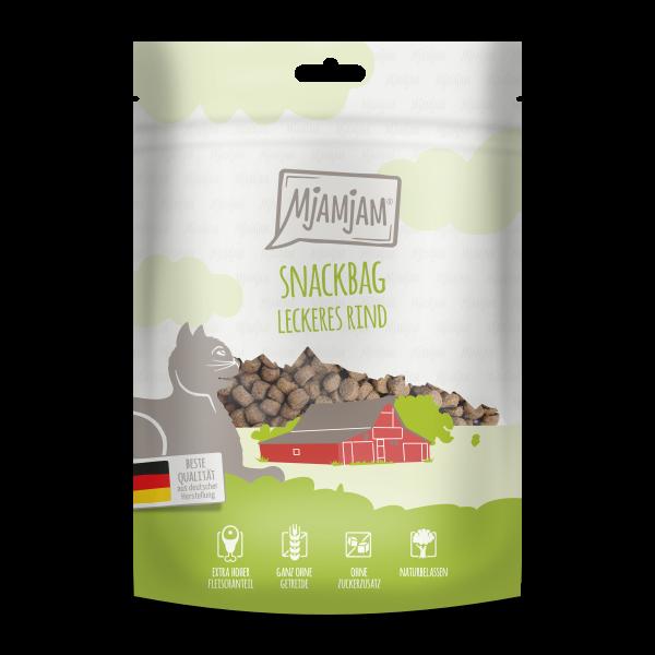 MjAMjAM Katze Snackbag - leckeres Rind