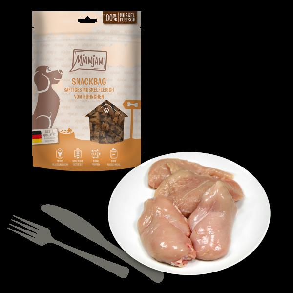 MjAMjAM - Snackbag saftiges Muskelfleisch vom Hühnchen