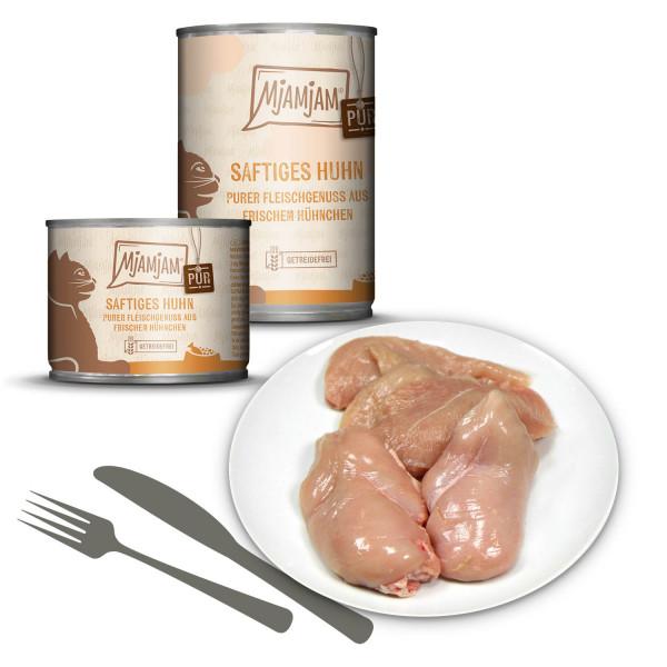 MjAMjAM - Purer Fleischgenuss - saftiges Hühnchen pur