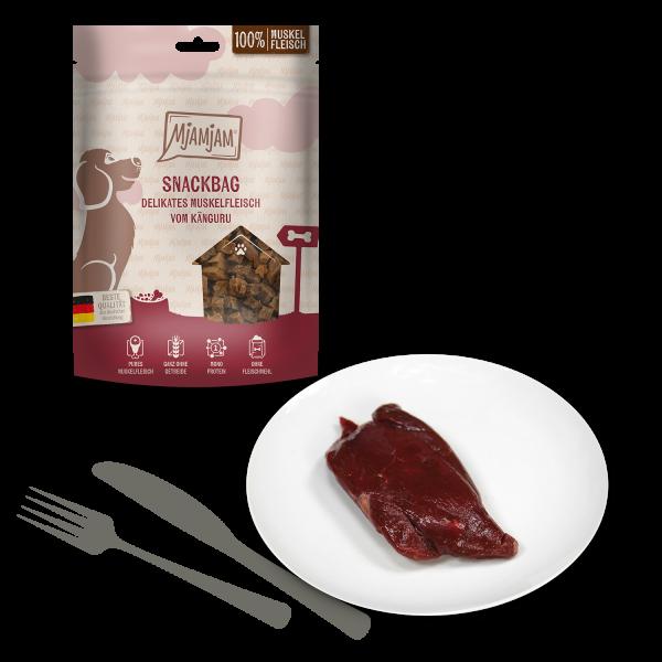 MjAMjAM - Snackbag delikates Muskelfleisch vom Känguru