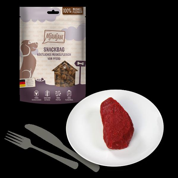 MjAMjAM - Snackbag köstliches Muskelfleisch vom Pferd
