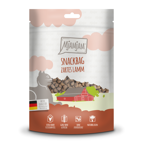 MjAMjAM Katze Snackbag - zartes Lamm