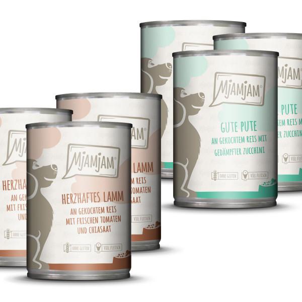 MjAMjAM - leckere Mahlzeiten Monopaket I für deinen Hund