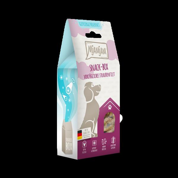 MjAMjAM - Snackbox - vorzügliches Straußenfilet