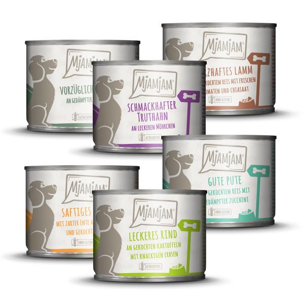 MjAMjAM - leckere Mahlzeiten Mixpaket II für deinen Hund
