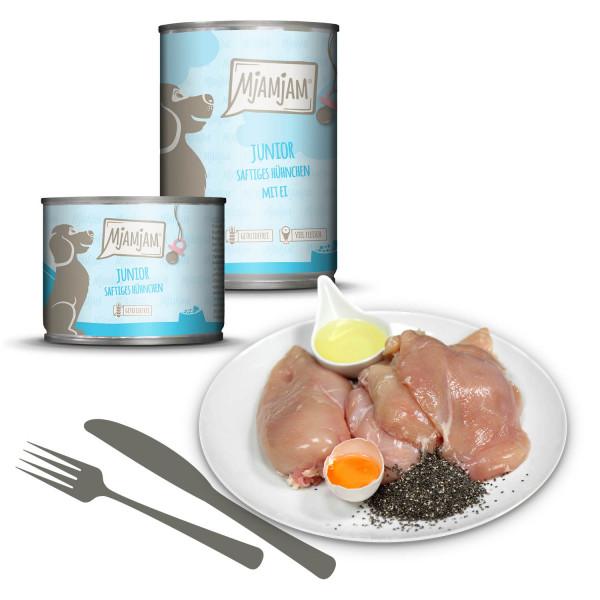 MjAMjAM - Junior saftiges Hühnchen mit Ei