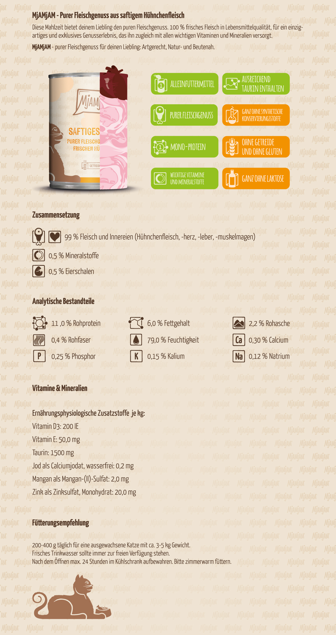 Mjamjam_Produktbeschreibung_Katze_PUR_Saftiges-Huhn