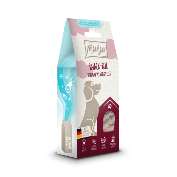 MjAMjAM - Snackbox - herzhaftes Wildfilet