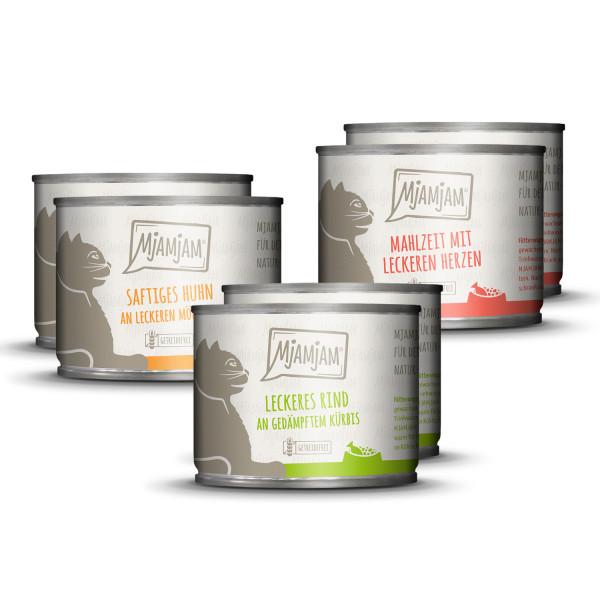 MjAMjAM - leckere Mahlzeiten Mixpaket I für deine Katze