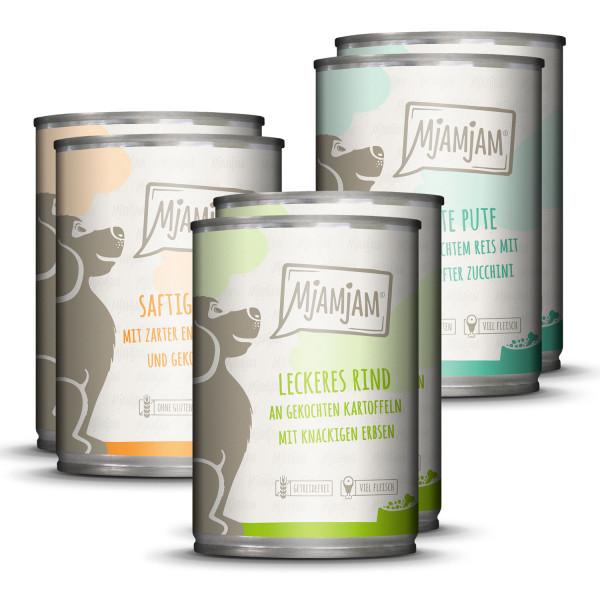 MjAMjAM - leckere Mahlzeiten Mixpaket I für deinen Hund