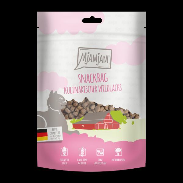 MjAMjAM Katze Snackbag - kulinarischer Wildlachs